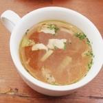 パネトリー - スープ ちょっと油っぽかったかな〜