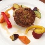 パネトリー - ハンバーグ 根菜たっぷり! 味は薄め!