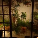 シャノアール - 中庭