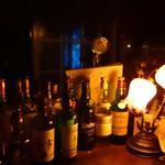 シャノアール - カウンタの上のお酒