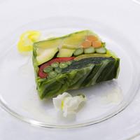 ゼット ザ・ウエスト&グリル - 季節野菜のテリーヌ
