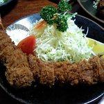 かつ善 - K定食(エビ+ヒレ)