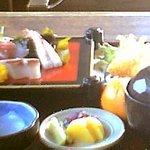 割烹旅館 潮見荘 - 灯台定食(\1260)