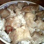 香港麺 新記 デックス東京ビーチ - 焼き豚飯