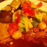 いずみカリー - ハヤシライス+野菜どっさり