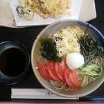 今泉 寿々木 - 野菜天ぷら付き冷やしたぬき