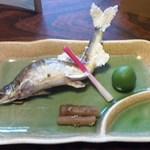 大進館 - 鮎塩焼き