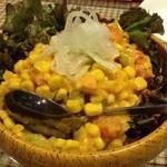 バーグイン - メキシカンサラダは!! 珍しいものじゃないけど、やっぱり、うまーいww