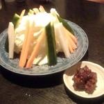 21002642 - 野菜!鶏肉味噌がサイコー
