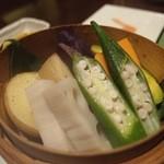 21002993 - 蒸し野菜。