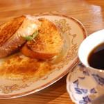 ポットベリー - ドリンク+150円のフレンチトースト