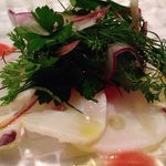 プリンチピオ - 活蛸のカルパッチョ香味野菜仕立て