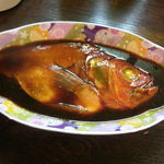 駿河 - 金目鯛の煮付け(半身)