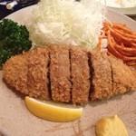 とんかつ 大清 - 料理写真:メンチカツ定食 950円