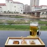 Tsurugi - テラスから見た風景