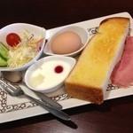元町珈琲 - 料理写真:プラス120円のモーニング