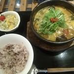 21006911 - 夏野菜の薬膳スープカレーセット(夏限定)単品