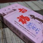赤福 - 見慣れた包装紙、9月1日製造、賞味期限は翌2日です
