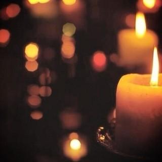 深夜はキャンドルの灯りに包まれて・・・・・