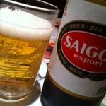 ベトナム料理専門店 サイゴン キムタン - サイゴンビール