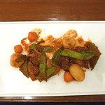 21012194 - シェフランチ 豚肩肉のバルサミコ煮込み 1000円