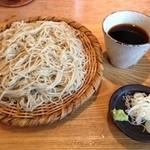 那須茶寮 - 新そば 大盛り1200円
