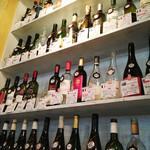 熟成屋 - 日本酒・焼酎・梅酒・ハイボール・カクテルまである居酒屋系ラインナップ。       ワインはビオ系も多くあったような気がします。
