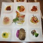 全聚徳 銀座店 - 特製冷菜の盛り合わせ(国賓席コース)