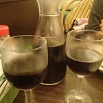 サイゼリヤ - ワインをデキャンタで