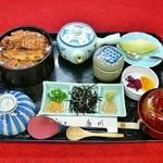 うなぎ割烹 康川 - まぶし茶漬け膳 竹