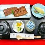 うなぎ割烹 康川 - 蒲焼定食 竹