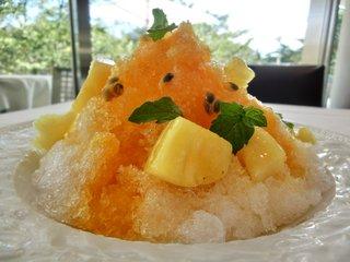ラー・エ・ミクニ - パッションフルーツのフラッペ ココナッツ風味 1000円