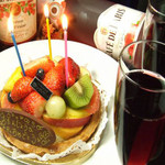 美食門天 - 大切な人の誕生日会にぴったり♪選べる特典★ケーキorシャンパンボトル!