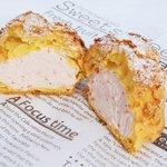 サラダファーム たまご館 - 料理写真:「いちごの森クリームシュー」
