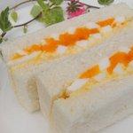 サラダハウス - エッグデリカの卵を使用した「たまごサンド」