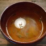カフェ オーチョ - セットのスープ
