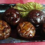 楽膳 - シイタケ肉詰焼き