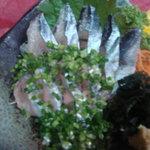 楽膳 - サンマ刺