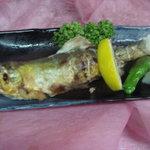 楽膳 - 狩野川産アユの塩焼き