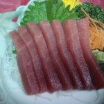 楽膳 - マグロ刺