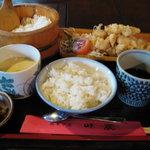 民芸茶屋 味蔵 - とり天定食☆これだけのボリュームで670円とお手頃です!