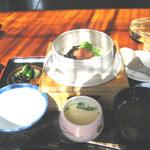 山葵 - 梅こぶ釜飯