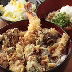 天ぷら ひさご - 秋のなでしこ天丼 9月5日より