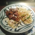 ビッグシェフ - ステーキランチA(ヒレステーキ・豆腐ステーキ・焼野菜)