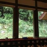 カフェ リーラ - カウンター席からの景色
