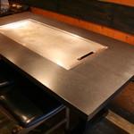 鉄板焼 おっとう 中崎町 - 鉄板を目の前にみんなでワイワイお楽しみください。