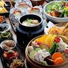 農家 - 料理写真:三田ポークと淡路鶏・旬野菜の12品目せいろ蒸しコース
