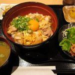 鶏太郎 - 親子丼 700円