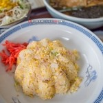 松川食堂 - 料理写真:チャーハンセット C