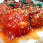 喰らい場 - イワシ団子のトマト煮込み♪